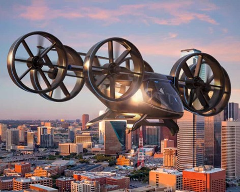 Flying taxis: Uber partner reveals design image