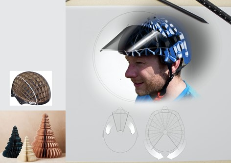 E-Scooter Flat Pack Helmet