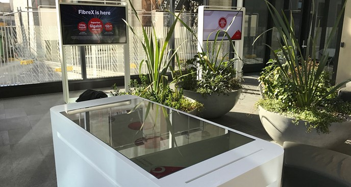 Vodafone Touch Table image